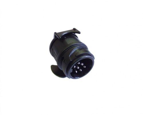 Elektromos adapter alj./dugó átal 12V 7p-13p röv
