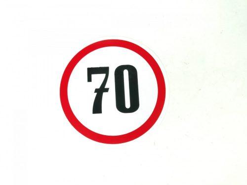 Matrica sebesség korlátozó kicsi 70