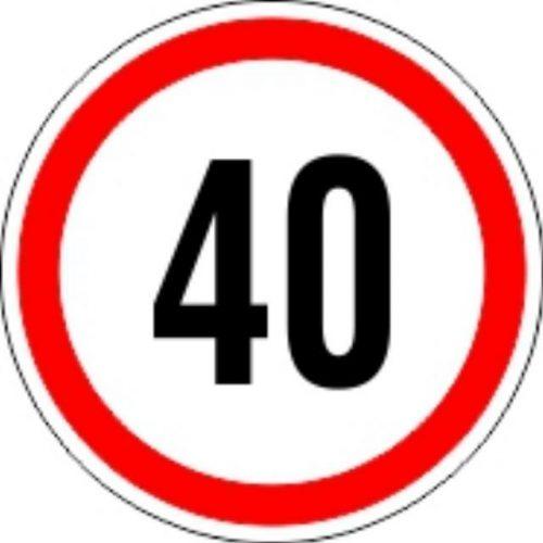 Matrica sebesség korlátozó kicsi 40