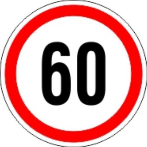 Matrica sebesség korlátozó kicsi 60
