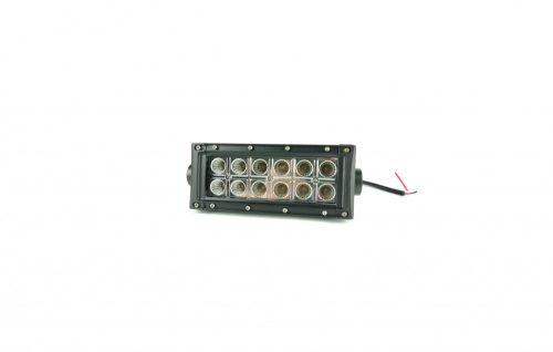 Munkalámpa LED dupla soros terítő 36W 12/24V