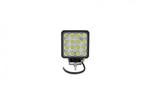 Munkalámpa LED szögletes terítő 48W 12/24V