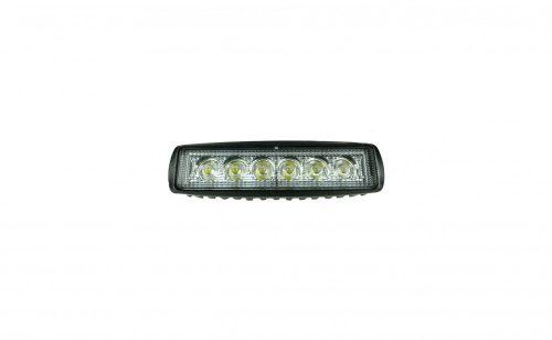 Munkalámpa LED lekerekített terítő 18W 12/24V
